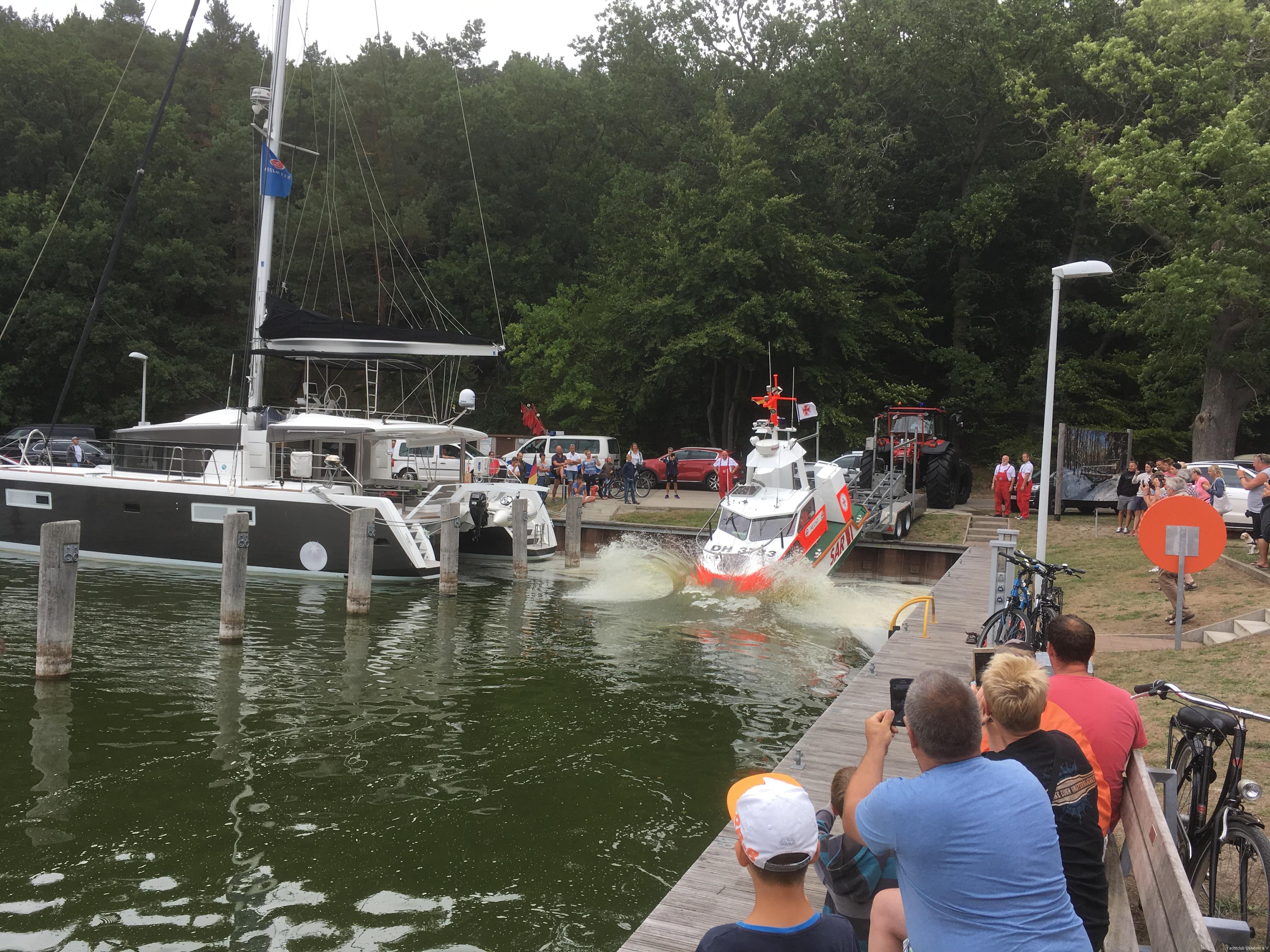 22. Fischerfest Usedom im Hafen Stagnieß 2018