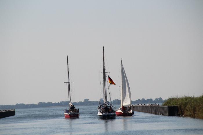 Ansegeln Hafen Stagnieß
