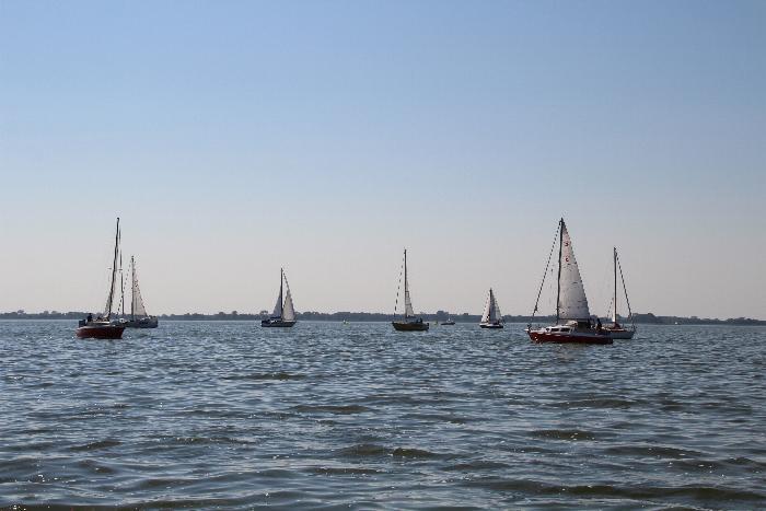 Absegeln Hafen Stagnieß
